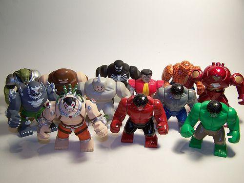 LEGO Custom X-Men   Epic Figs (DC vs Marvel) by Paul Janowski