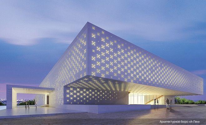 The Russian Science & Culture Center in Kabul. Tatlin's Award, Grand Prix «Zodchestvo 2012»