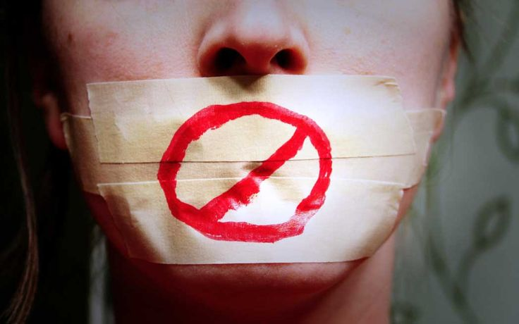 Unscrutinized gag orders equals abuse.--Jan 2017 By Linda Hammerschmid