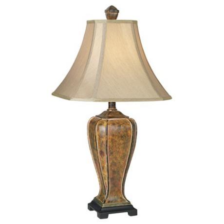 Desert Crackle Transitional Table Lamp (07069)