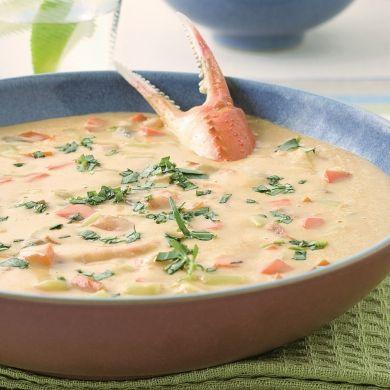 Soupe aux pinces de crabe - Recettes - Cuisine et nutrition - Pratico Pratique