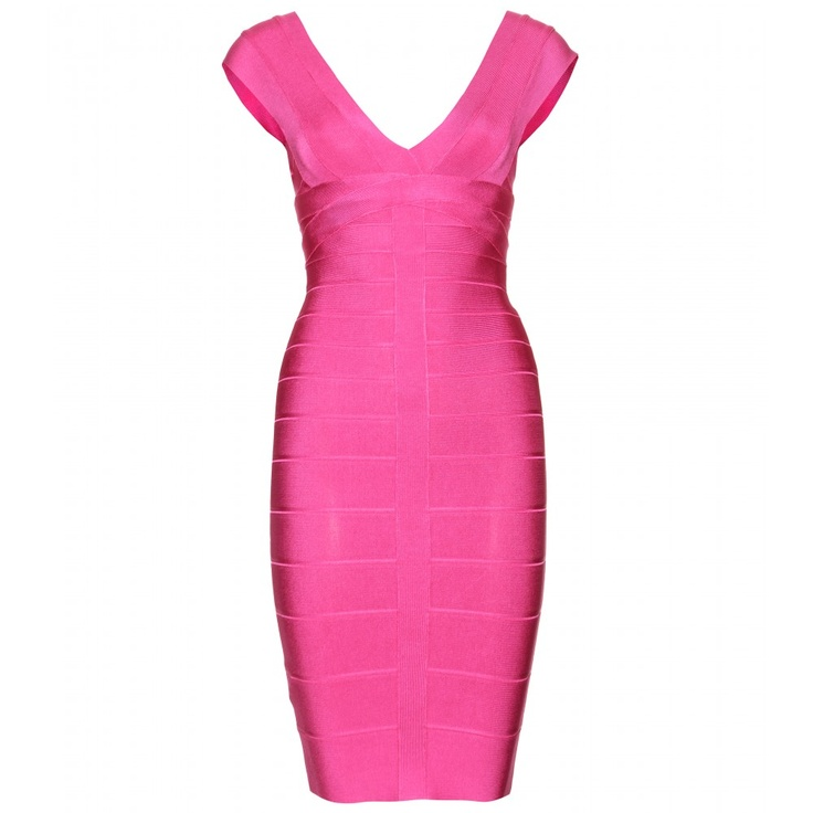 Think Pink! BANDAGE-KLEID ELISE seen @ www.mytheresa.com