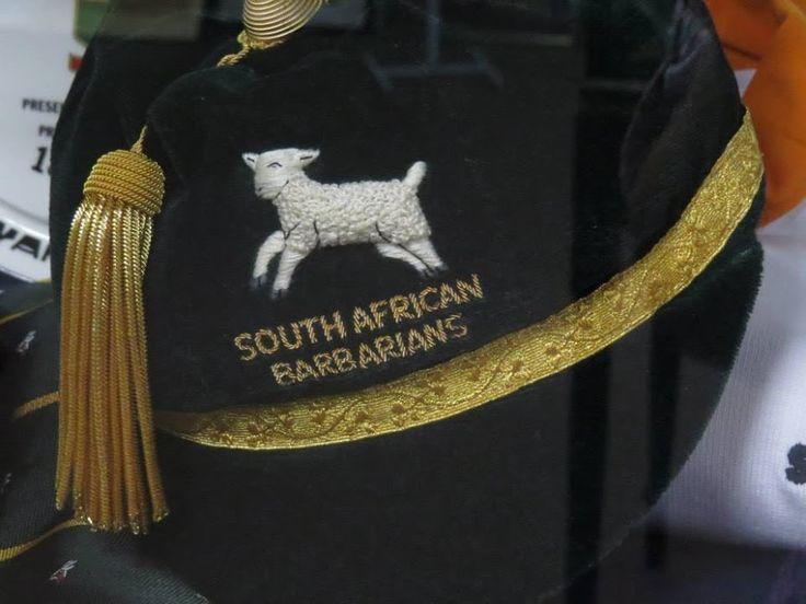South African Barbarians Johan Strauss