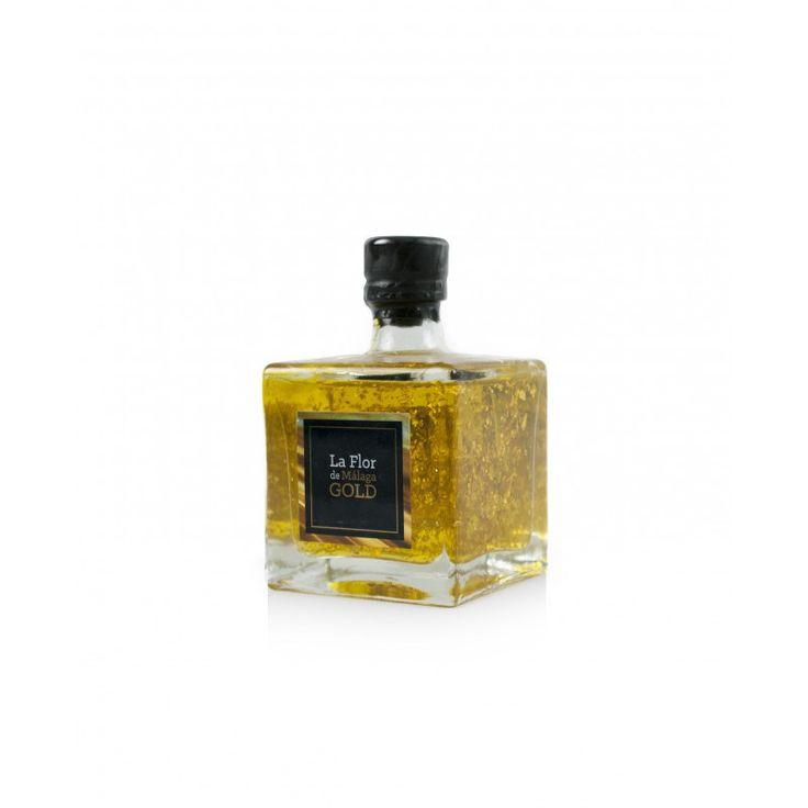 Aceite de oliva virgen extra y oro