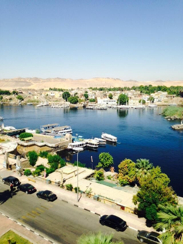 #Egypt is clearly not just about the #Pyramids and heritage! It also has some amazing views and landscapes to offer. #Aswan is one of the modern towns in #Egypt and yet it doesn't lack natural beauty!