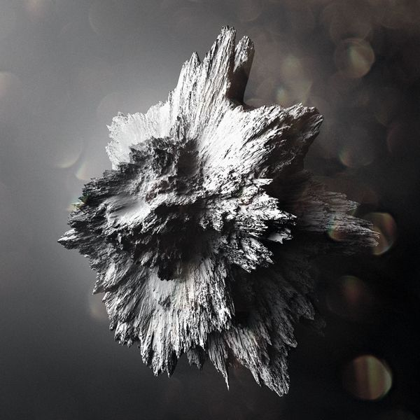 Crystallized Asteroïds by Chaotic Atmospheres , via Behance