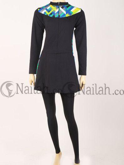 Modern baju renang muslimah - www.nailah.co