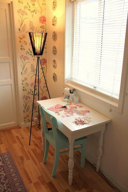 diy desk/chair combo.: Diy Ideas, Decorating Idea, Sweet Home, Ballerinas, Apartment Ideas, House, Home Sweet, Stina Ballerina, Bedroom Ideas