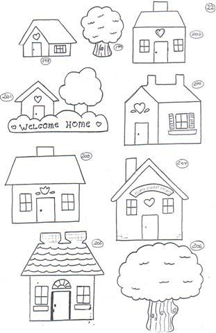1000 Images About Coloring Houses On Pinterest