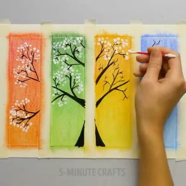 Incredible Art Follo Easy Paintings Diy Crafts 5 Minutes