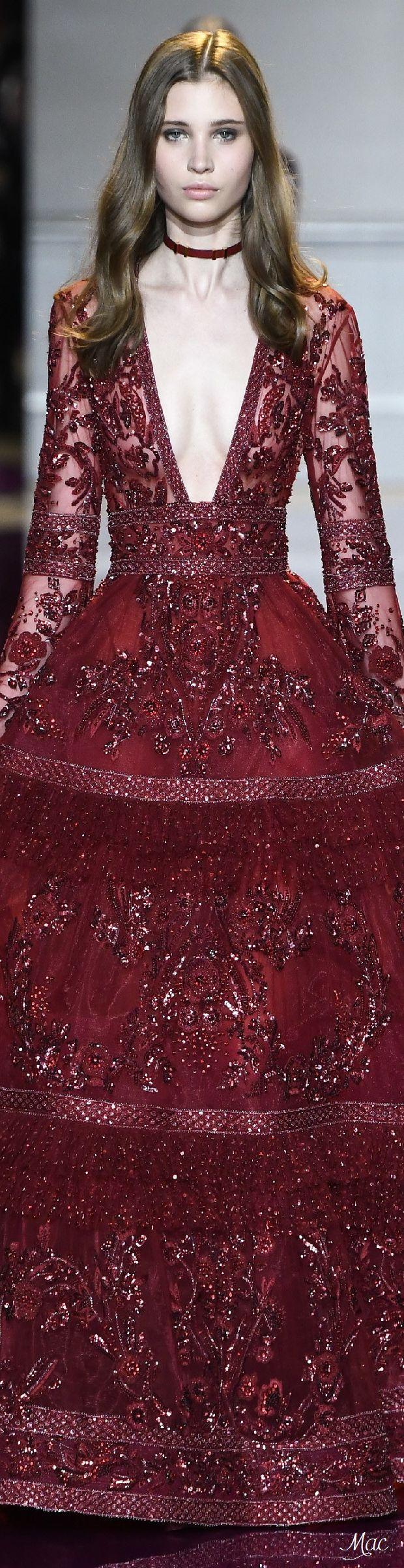 手机壳定制running shoes online store india Fall   Haute Couture  Zuhair Murad