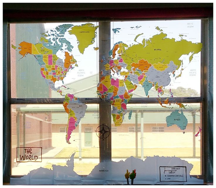 Social Studies Classroom Door Decorations ~ Best maps of the world teaching geography images on