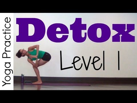 Yoga for Detox - Level 1 - YouTube (for stress relief and to open everything up after a weekend of heavy lifting)