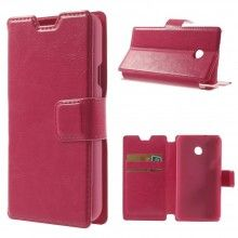 Forro Libro Huawei Ascend Y330 Magnetica - Rosa $ 26.200,00