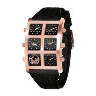 'Bayard' 6TZ Men's Rose Gold Watch