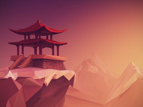 Low poly et illustrations by Jona Dinges