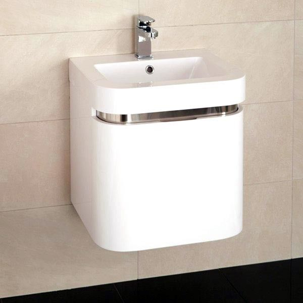 £259.95 Murcia 50 Wall Mounted Vanity Drawer Unit