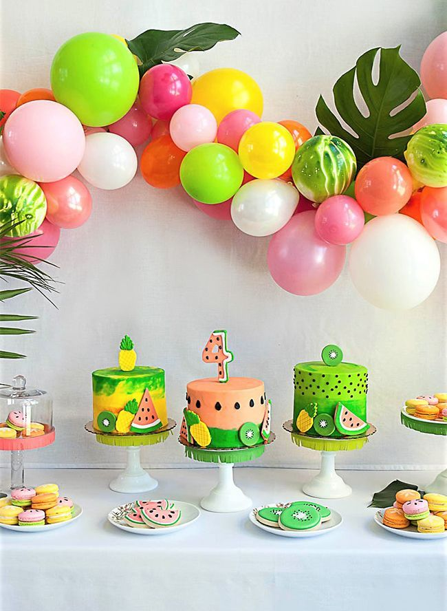 Tropical Tutti Frutti Birthday Party - Inspired By This