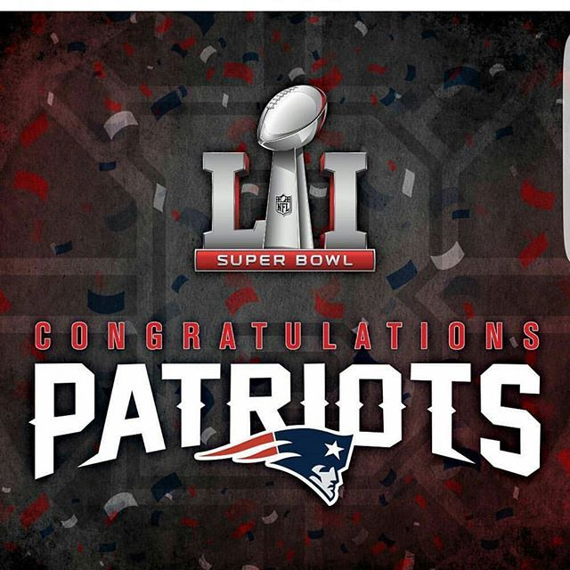 Amazing Super Bowl The Greatest Of All Time.  #champions  #wearethebest  #championsagain  #superbowlmvp  #SuperBowlchamps  #Patriots #NewEnglandPatriots #NewEngland #GilletteStadium #GoPats #Pats #PatsNation #weruntheafceast #TomBrady #Brady #BillBelichick #DoYourJob #JulianEldelman #MartellusBennett #DionLewis #JamesWhite #NFL #SuperBowl51 #ILoveSports20 #ILoveSports
