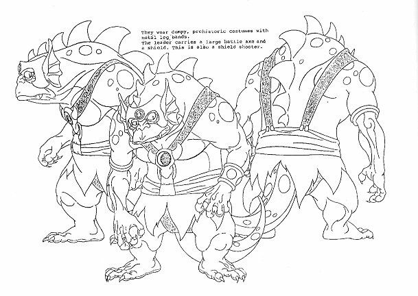 thundercats character design page - Thunder Cats Coloring Book Pages