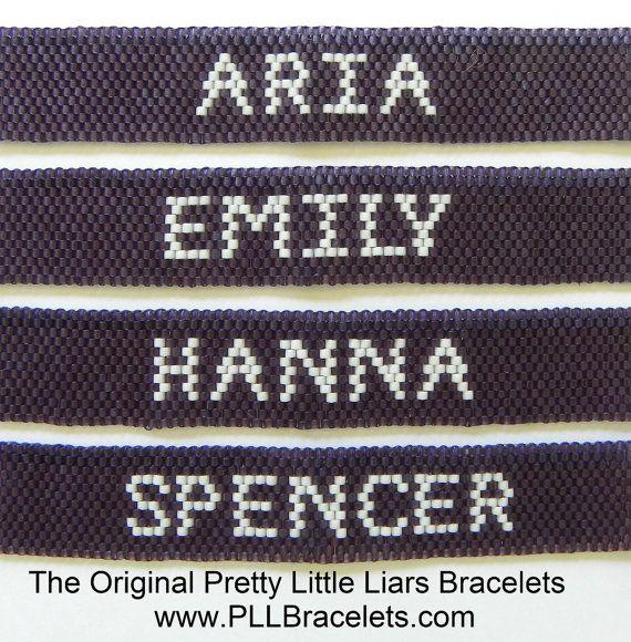 The Original Pretty Little Liars Bracelet by DreamWeaverDesigns, $36.00