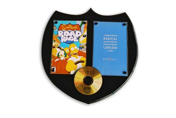 Radical Awards - Simpsons Road Rage