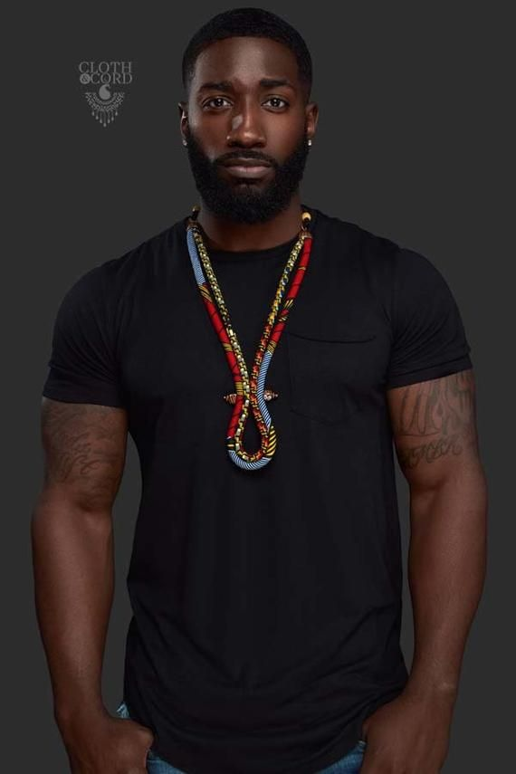 Men S Ketepa Corded Necklace Mens African Necklace Men S