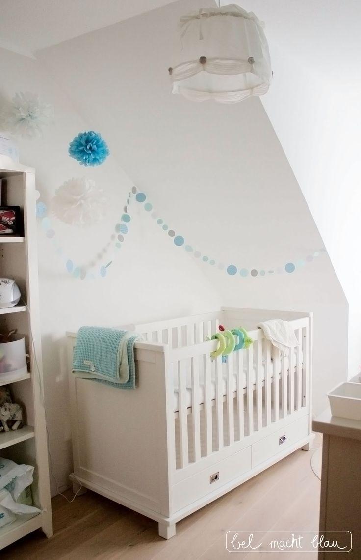 Einblicke ins Babyzimmer Kinderzimmer deko mint