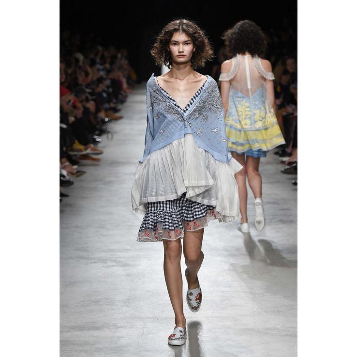 Rahul Mishra. #pastel #paterns #fashion #Vogue #VogueRussia #readytowear #rtw #springsummer2017 #RahulMishra #VogueCollections