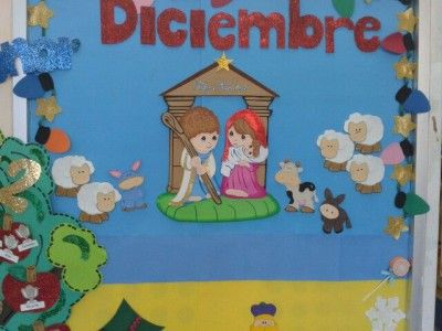 Completa recopilación de ideas para el periódico mural de DICIEMBRE.