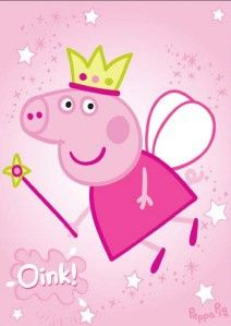 peppa pig fairy princess...image for cake/invites