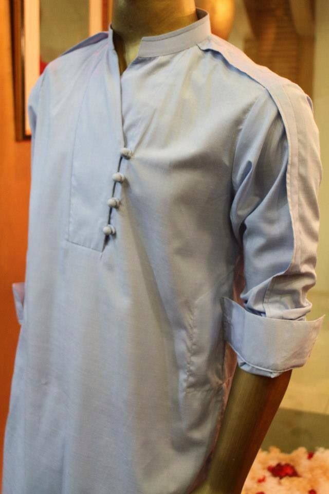 Pakistani Kurta Dresses 2014 for Men's (3)