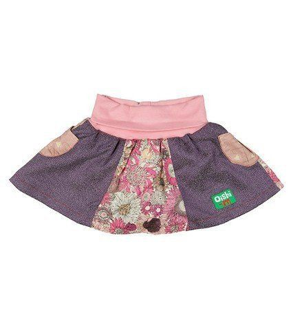SALE | Eco-Friendly | Baby | Toddler | Denim | Oishi-m Champagne Skirt | Naked Baby Eco Boutique