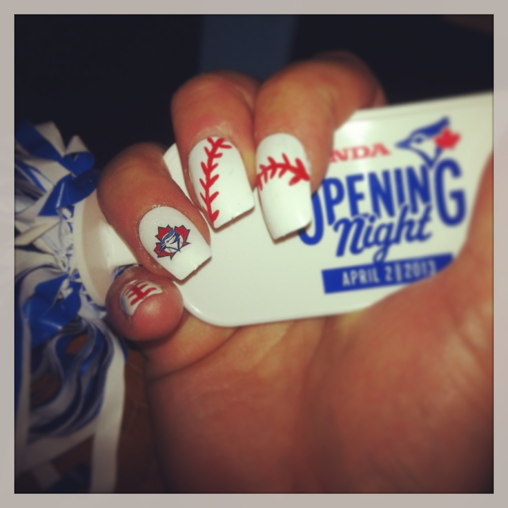 Nail Art Toronto Blue Jays ~ the best inspiration for design and ...