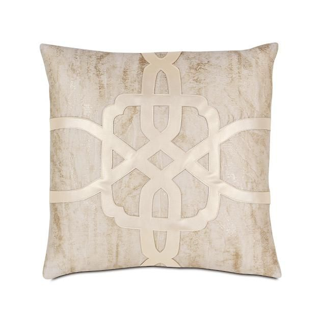 Halo Champagne Key Decorative Pillow By Eastern Accents Frontgate Metallic Throw Pillow Decorative Pillows Throw Pillows