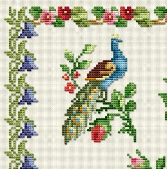 free cross stitch sampler patterns | Free Cross Stitch Patterns by EMS Design. Free Project 2012 -Antique ...