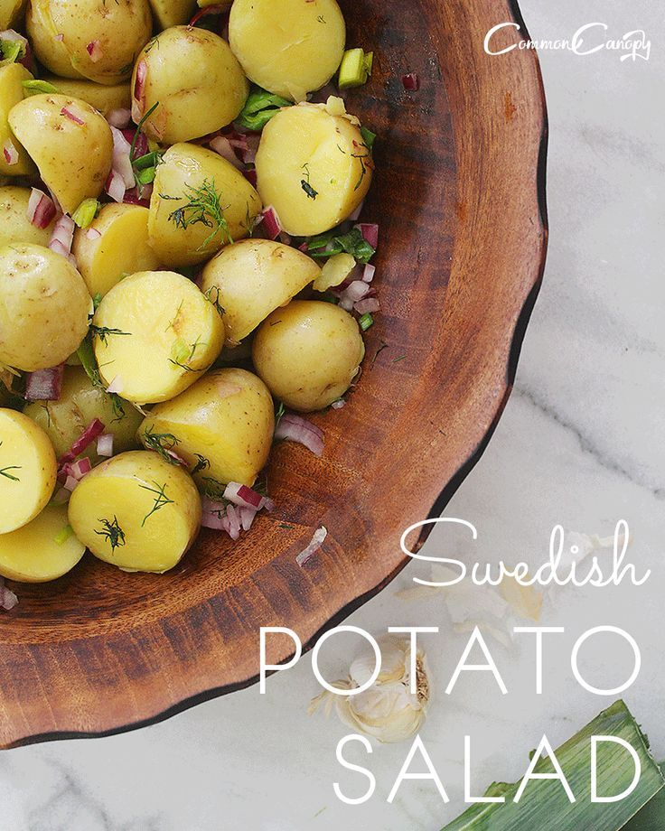 Traditional Swedish Potato Salad Recipe Common Canopy Potatoe Salad Recipe Swedish Potato Salad Recipe Nordic Recipe