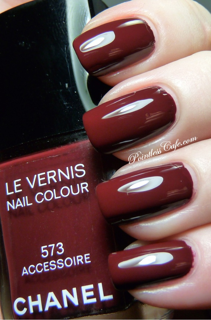 33 best Shades of Red Chanel Nail Polish images on Pinterest ...