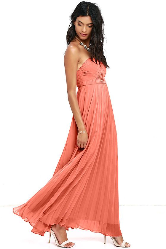 17 Best ideas about Coral Pink Dress on Pinterest | Coral ...