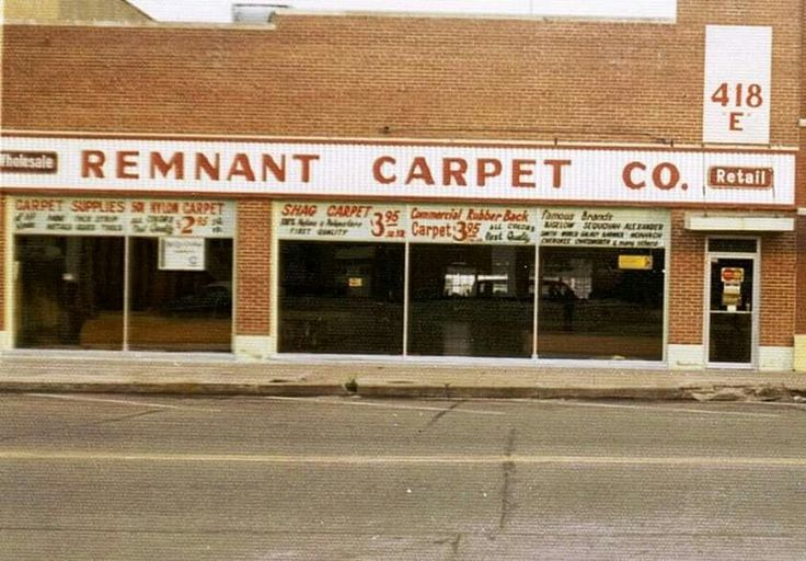 My first carpet store opened downtown in 1968. Doug Wagoner