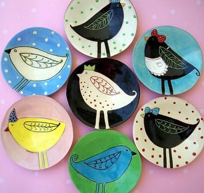 Artist: Joy Elizabeth Ceramics / Source: Etsy // oh I love these, don't you!