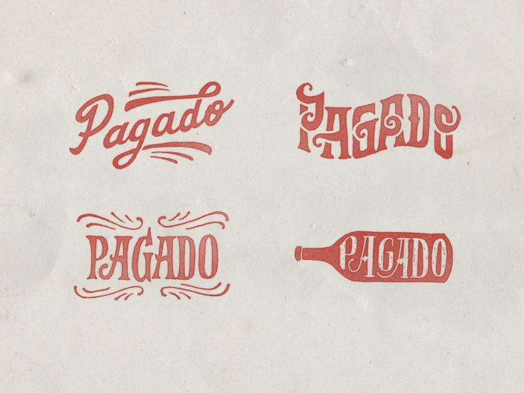 Paid Rubber stamps by Gustavo Mancini #gourmetillo loves!!