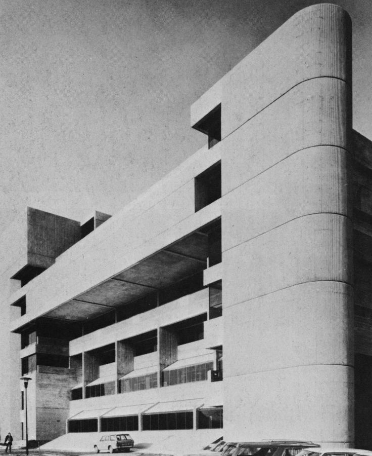 D.B. Welton Library, University of Western Ontario, London, Ontario, 1971 (John Andrews & Ronald E. Murphy)