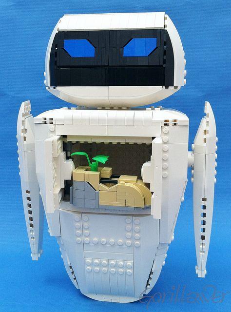 LEGO EVA from the movie Wall-e