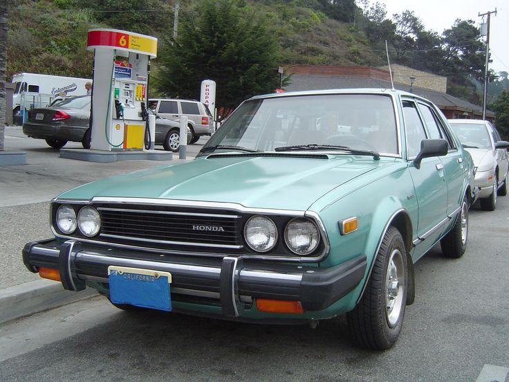 When I sold the 68 Chevelle, we were now a two income family.  I found this great little 1981 Honda Accord and bought it for my wife. For the times, it was quite nice with AC, Power everthing and great gas mileage as well.