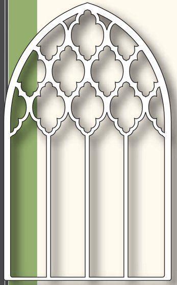 Grand Gothic Luminary Window Die