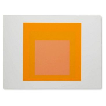 Check out this item at One Kings Lane! Josef Albers, Portfolio 1, Folder 15B