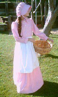 pioneer costumes