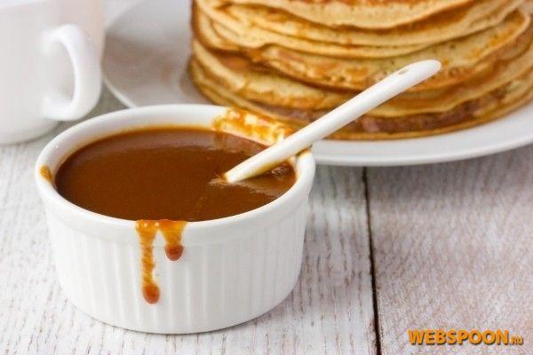 Карамельный соус с фото | Рецепт карамельного соуса из сахара и сливок