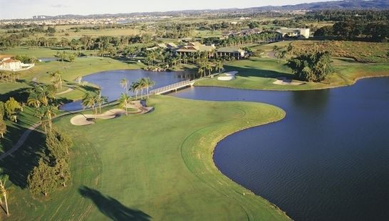 Play 18 Holes for 2 at the original resort golf course on the Gold Coast - Palm Meadows Golf Course. This offer includes a shared motorised cart & a refreshing beer each after your rounds. Normally $188, today just $89 - Save 53%! #golf #golfqld